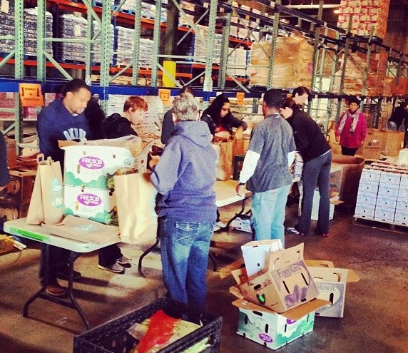 Phoenix Service Learning 2014 St Marys Food Bank