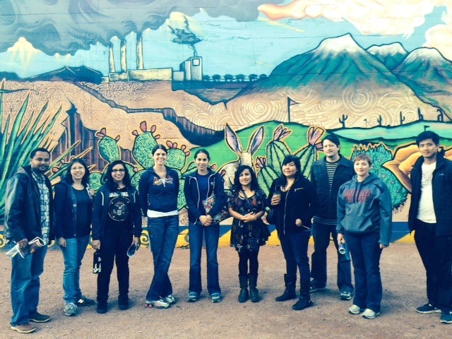 Phoenix Service Learning 2014 Water Writes Mural