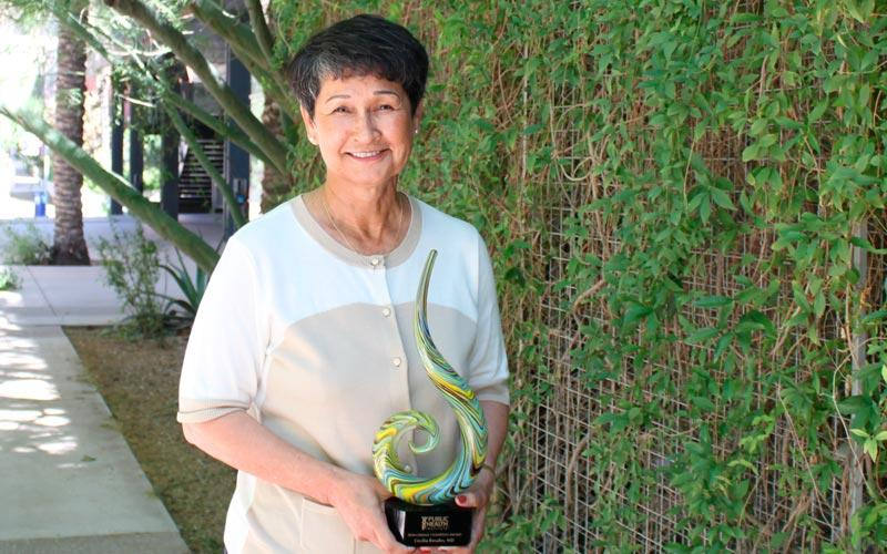 The Public Health Institute names Dr. Cecilia Rosales a 'Public Health Change Champion'