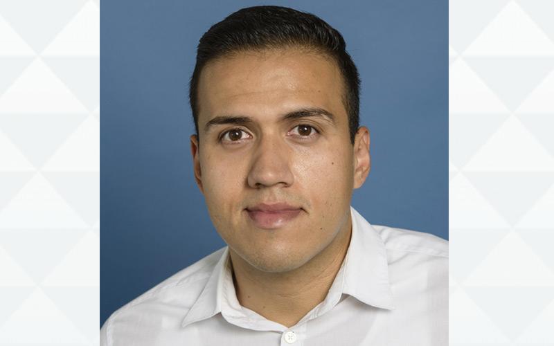 Benjamín Aceves, a doctoral candidate