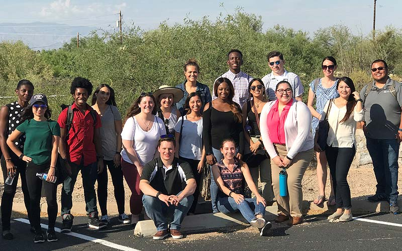 STEP-UP at the UA Mel and Enid Zuckerman College of Public Health and UA Cancer Center selected 17 students from diverse backgrounds for the 12 week, paid summer research program in cancer prevention designed for undergraduate and master's level students.