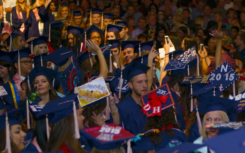 With Laughter and Tears, the Mel and Enid Zuckerman College of Public Health Sends Off Grads.