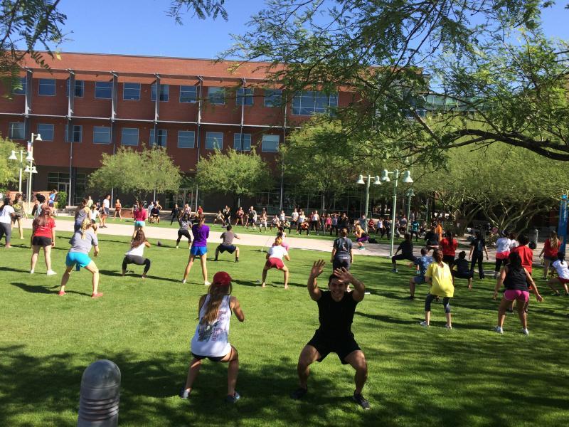 Arizona Health Sciences Center campus.