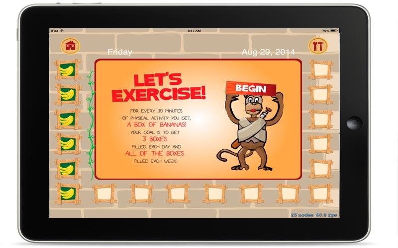 Don't Monkey Around with Diabetes App