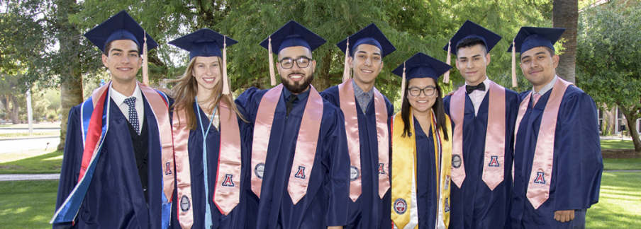 The University of Arizona Mel and Enid Zuckerman College of Public Health, Class of 2018.