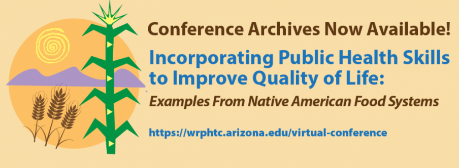 The Virtual Conference was hosted by the Western Region Public Health Training Center at the University of Arizona Mel and Enid Zuckerman College of Public Health, August 22-24, 2017.