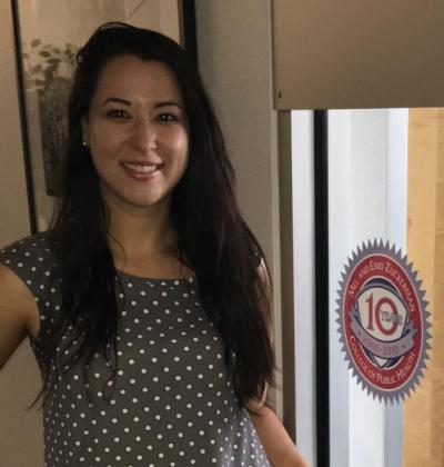 Celina I. Valencia, doctoral student in public health policy and management, receives dissertation grant.