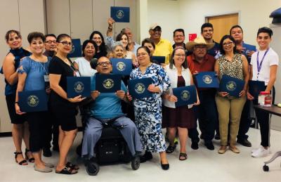 El Rio Meta Salud Diabetes study participants and staff. Photo courtesy of El Rio Health Center.