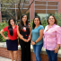Graduate students from the University of Arizona Mel and Enid Zuckerman College of Public Health. From left, Felina Cordova-Marks, Carmella Kahn, Jennifer Richards, Tara Chico